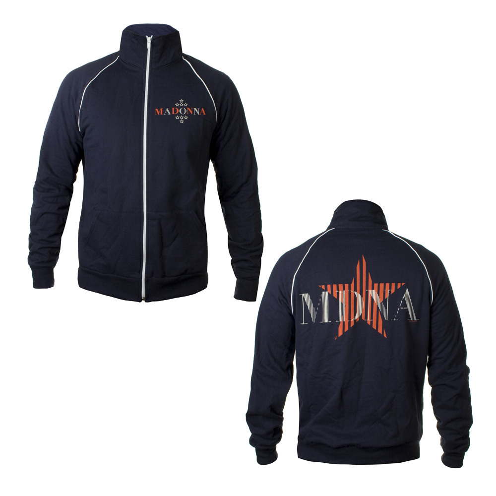 Madonna MDNA Fleece Track Jacket