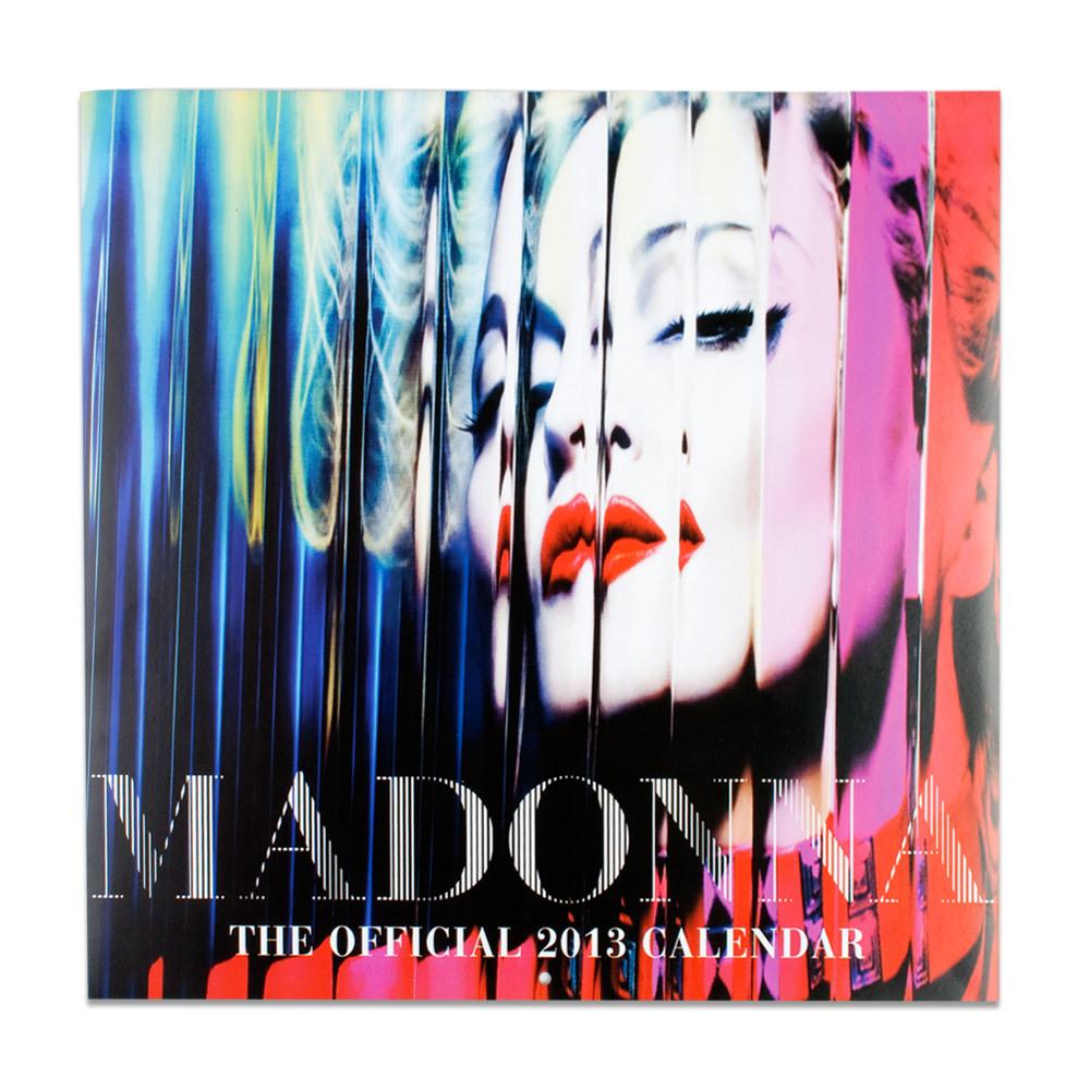 Madonna 2013 Calendar