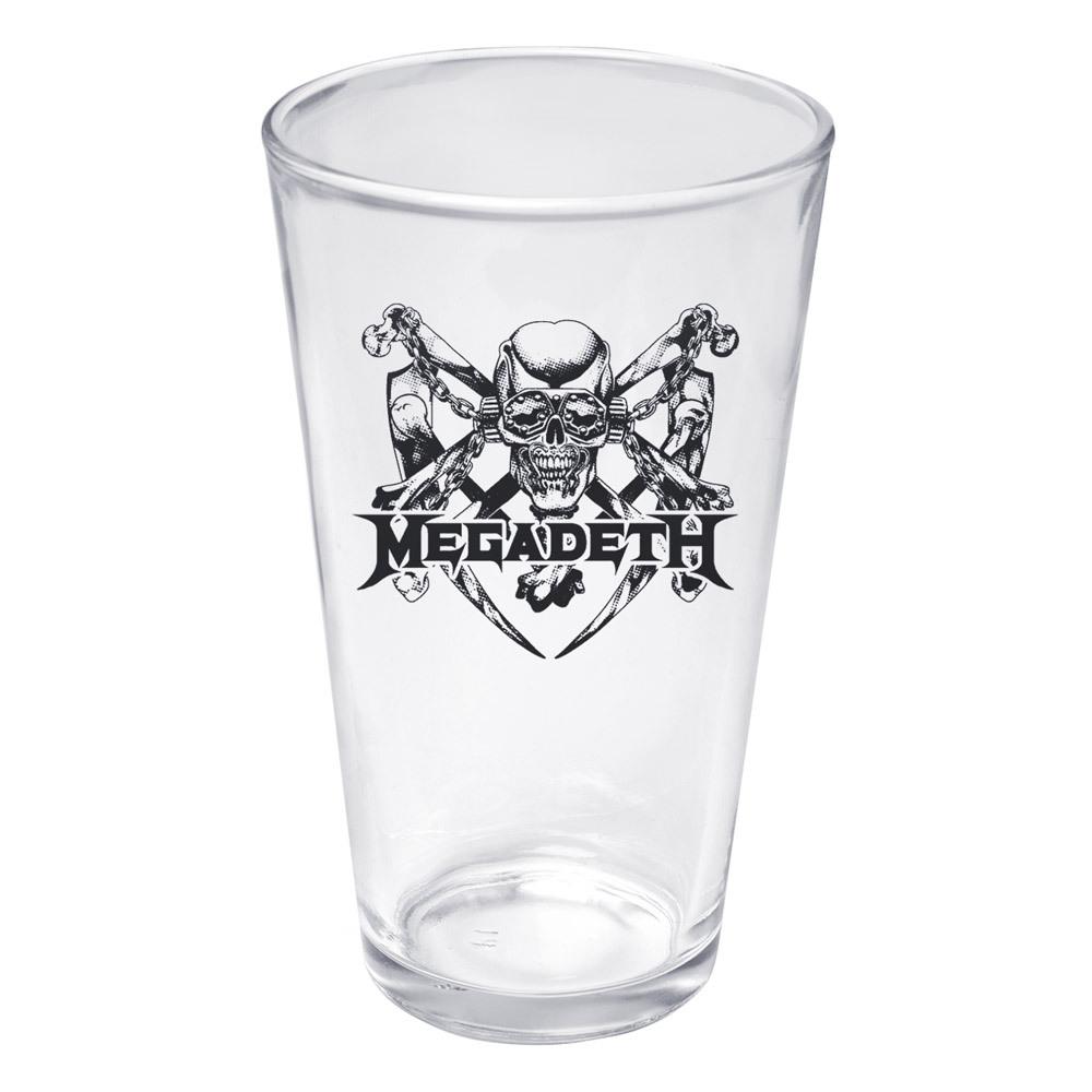 Megadeth Pint Glass