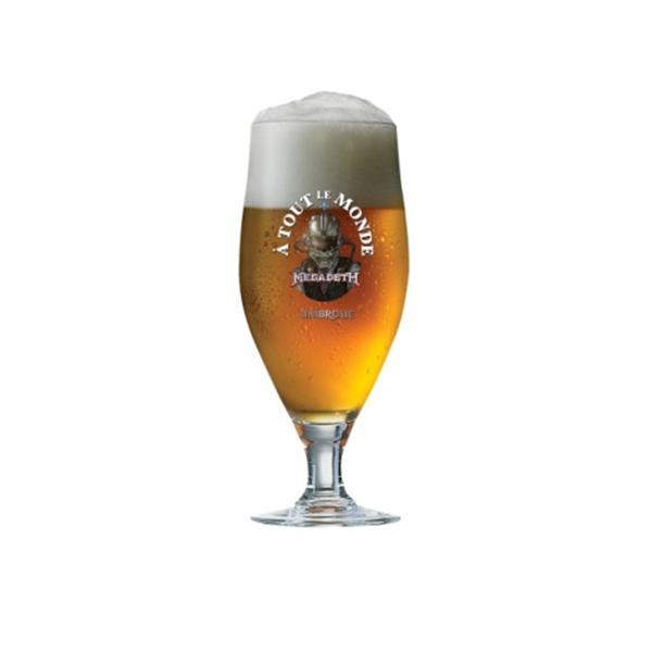 Megadeth A Tout Le Monde Beer Glass