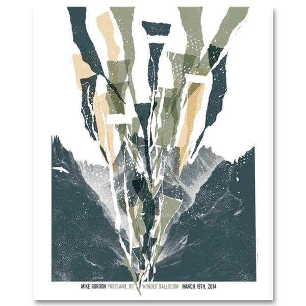 Mike Gordon Portland LE Poster