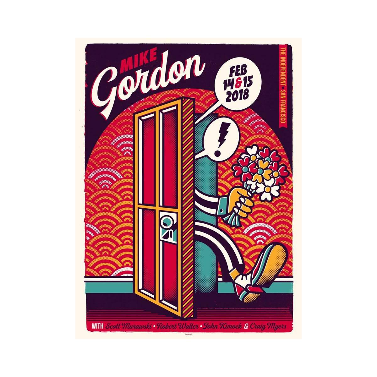 Mike Gordon San Francisco LE Poster