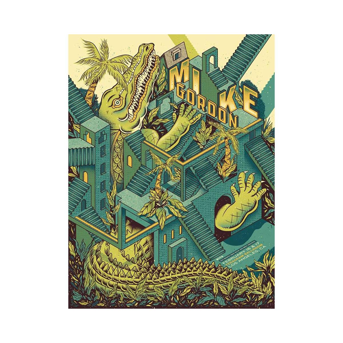 Mike Gordon Los Angeles LE Poster