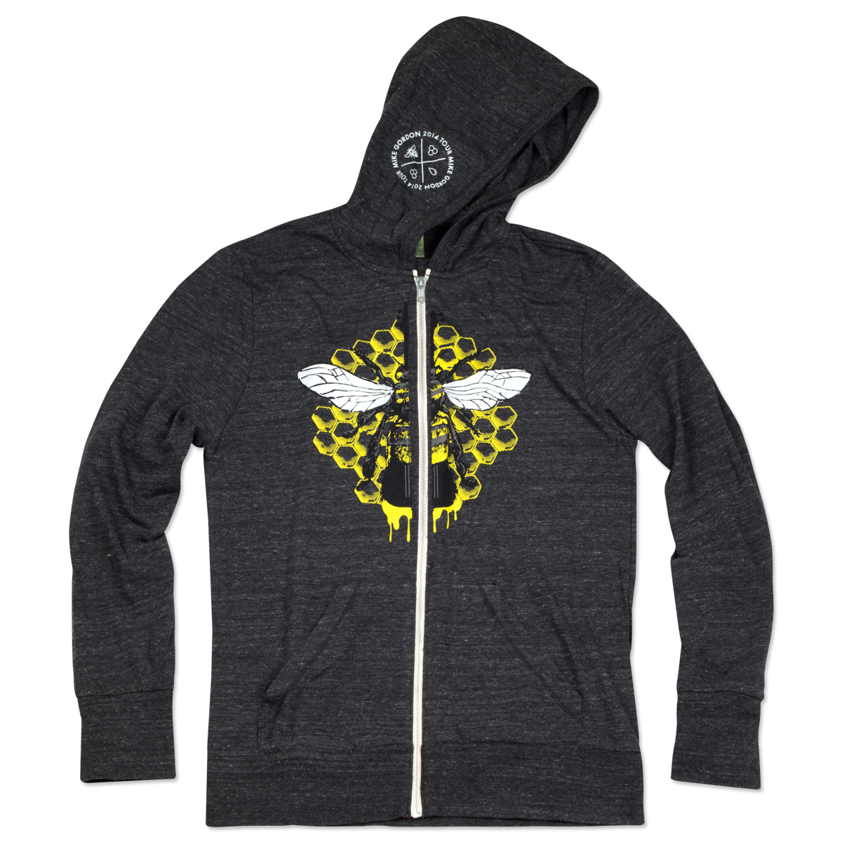 Yarmouth Road Bass Bee Lightweight Hoodie