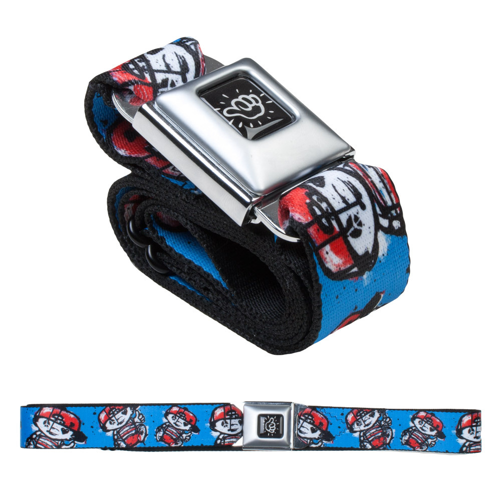 Mac Miller Lil Mac Blue Seat Belt Belt