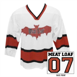 Meat Loaf Bat Hockey Jersey