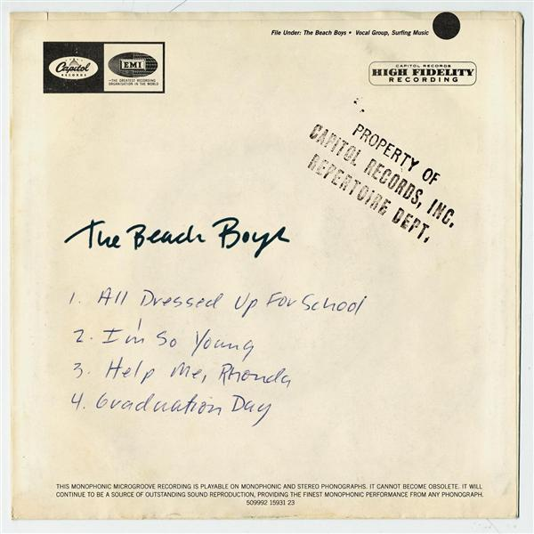 Beach Boys - All Dressed Up for School - MP3 Download