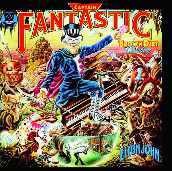 Elton John - Captain Fantastic And The Brown Dirt Cowboy - MP3 Download