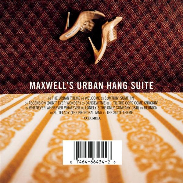 Maxwell -  Maxwell's Urban Hang Suite - MP3 Download
