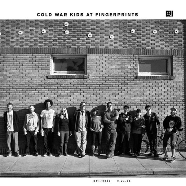 Cold War Kids - Cold War Kids At Fingerprints - MP3 Download