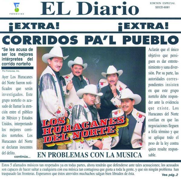 Los Huracanes Del Norte - Corridos Pa'l Pueblo - MP3 Download