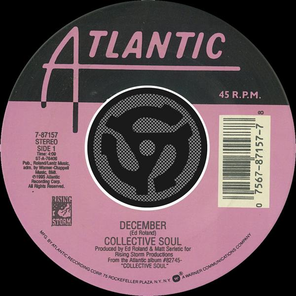 Collective Soul - December / Gel [Digital 45] - MP3 Download