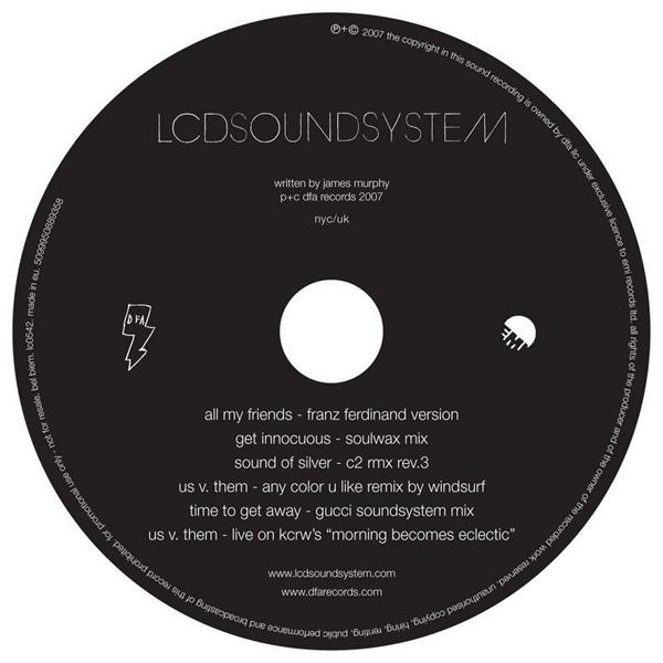 LCD Soundsystem - A Bunch Of Stuff EP - MP3 Download