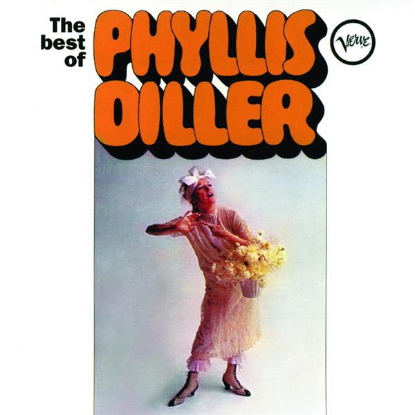 Phyllis Diller The Best of Phyllis Diller (Album Cover)