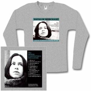 Natalie Merchant - The House Carpenter's Daughter Long Sleeved Women's Tee