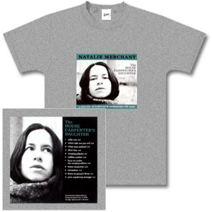 Natalie Merchant - The House Carpenter's Daughter Men's Short Sleeved T-Shirt