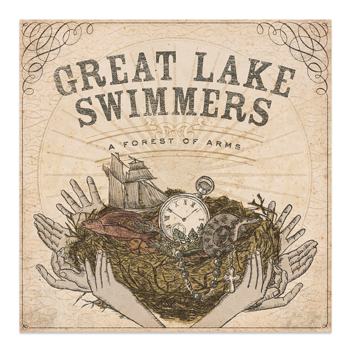 Great Lake Swimmer's - A Forest of Arms CD