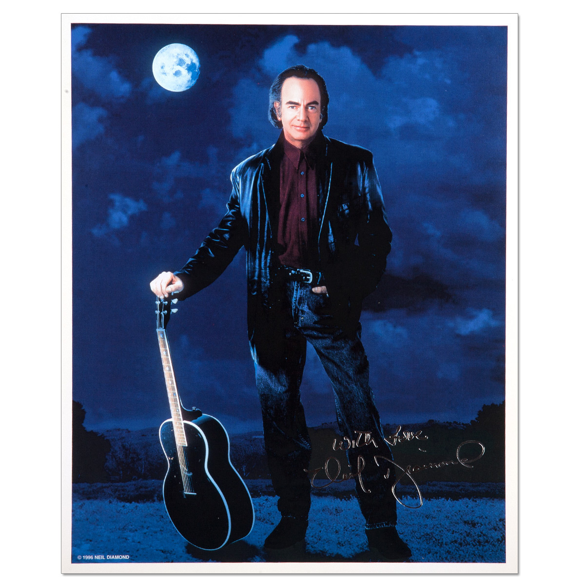 Tennessee Moon '96 Pre-Printed Autograph Photo