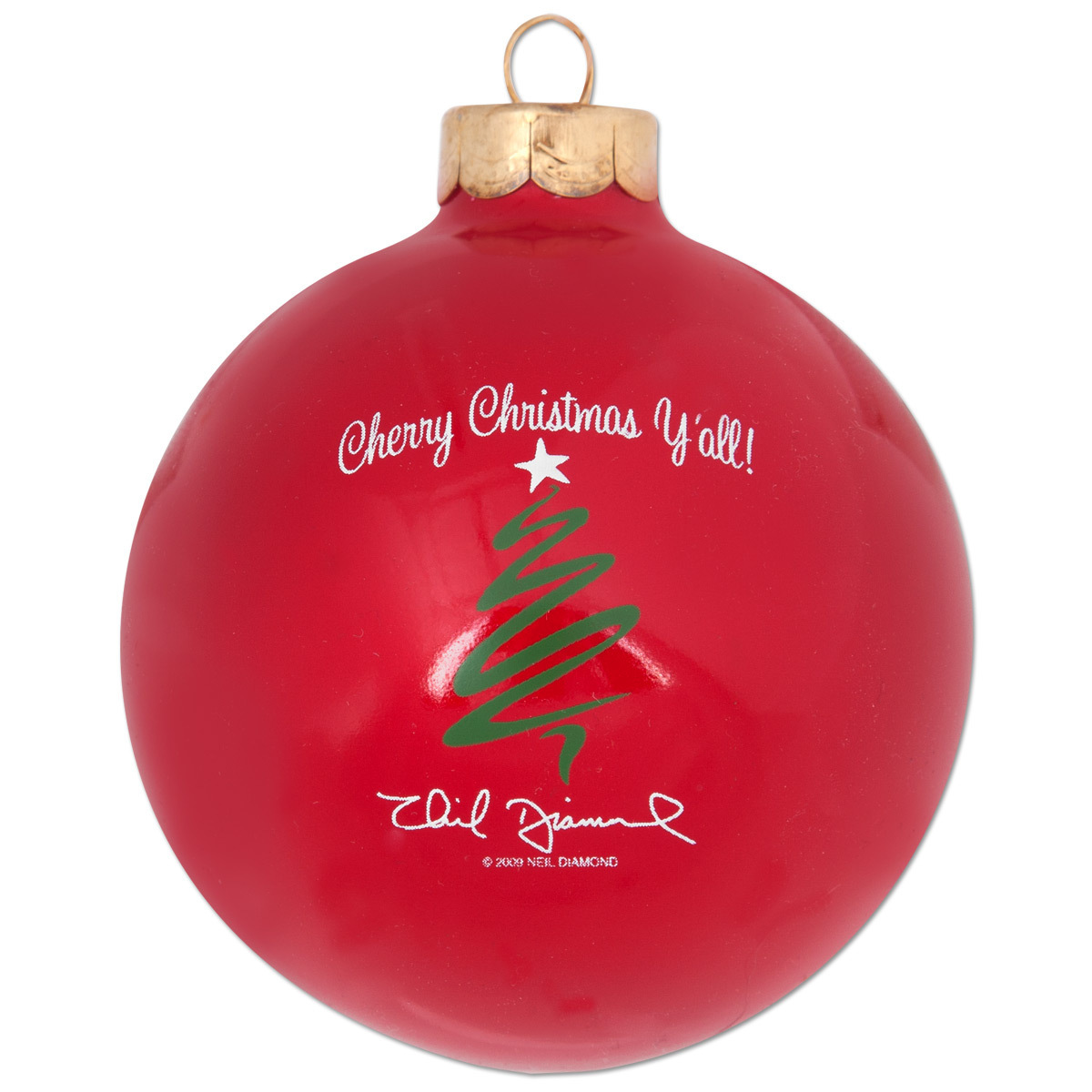 Cherry Christmas Y'all! Collectible Ornament