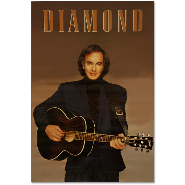 Vintage Neil Diamond Poster