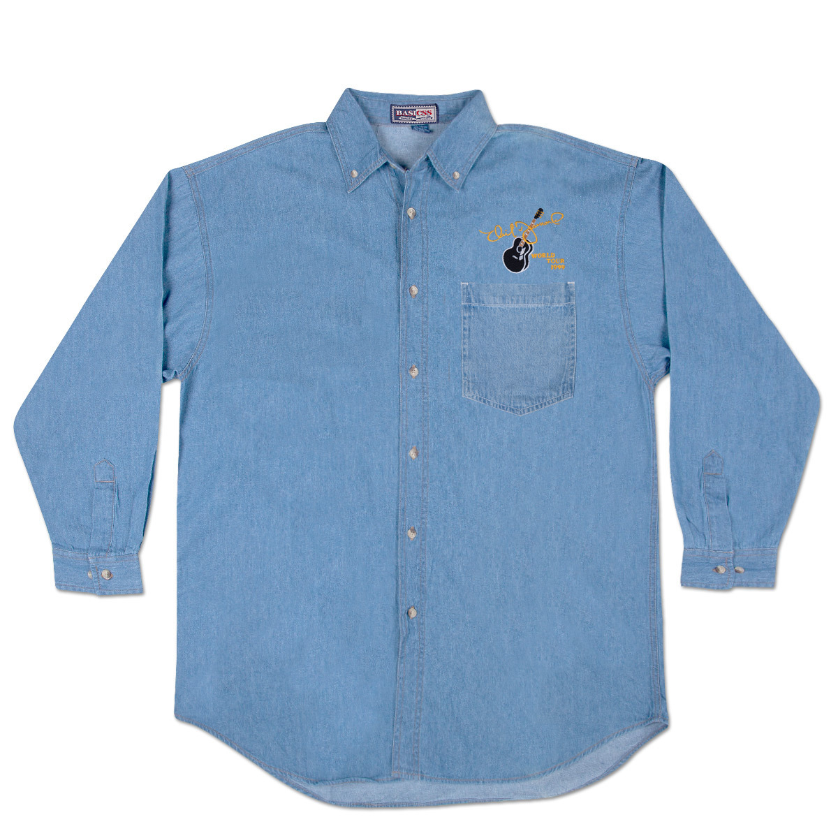 World Tour ' 99 Light Denim Shirt