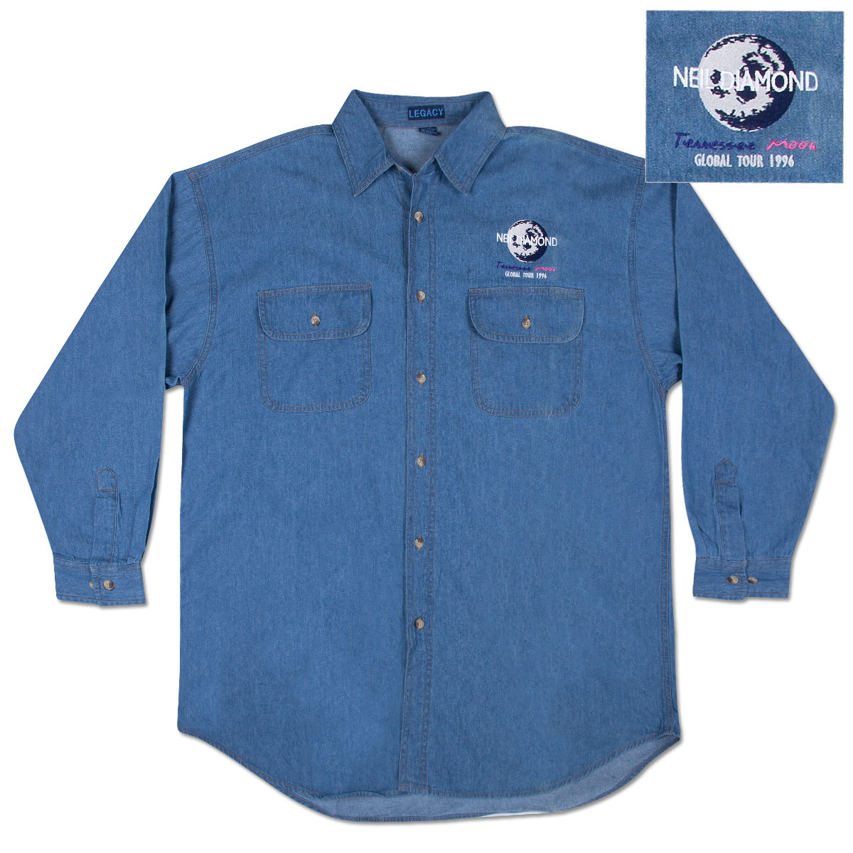 Tennessee Moon Denim Shirt