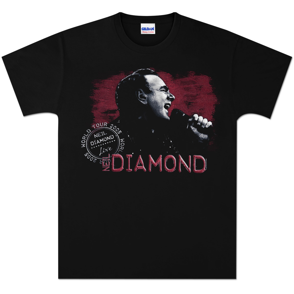 '05 World Tour Live Red Shade Tee