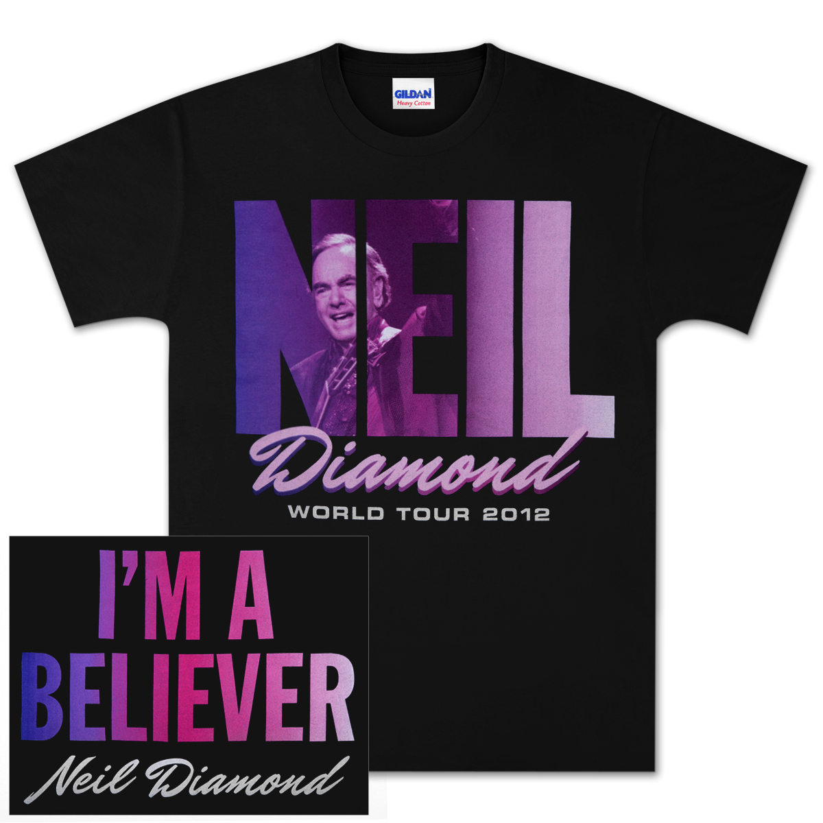 I'm A Believer World Tour 2012 T-Shirt