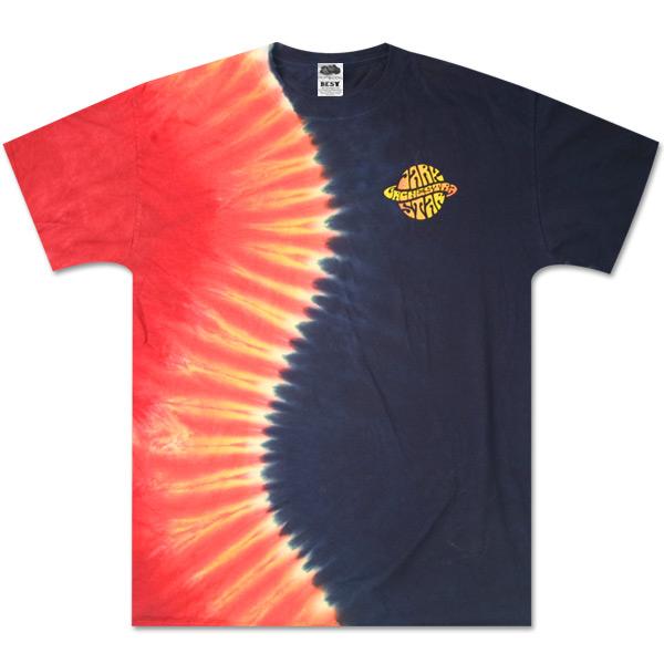 Dark Star Orchestra - Saturn Half/Half Dye T-Shirt