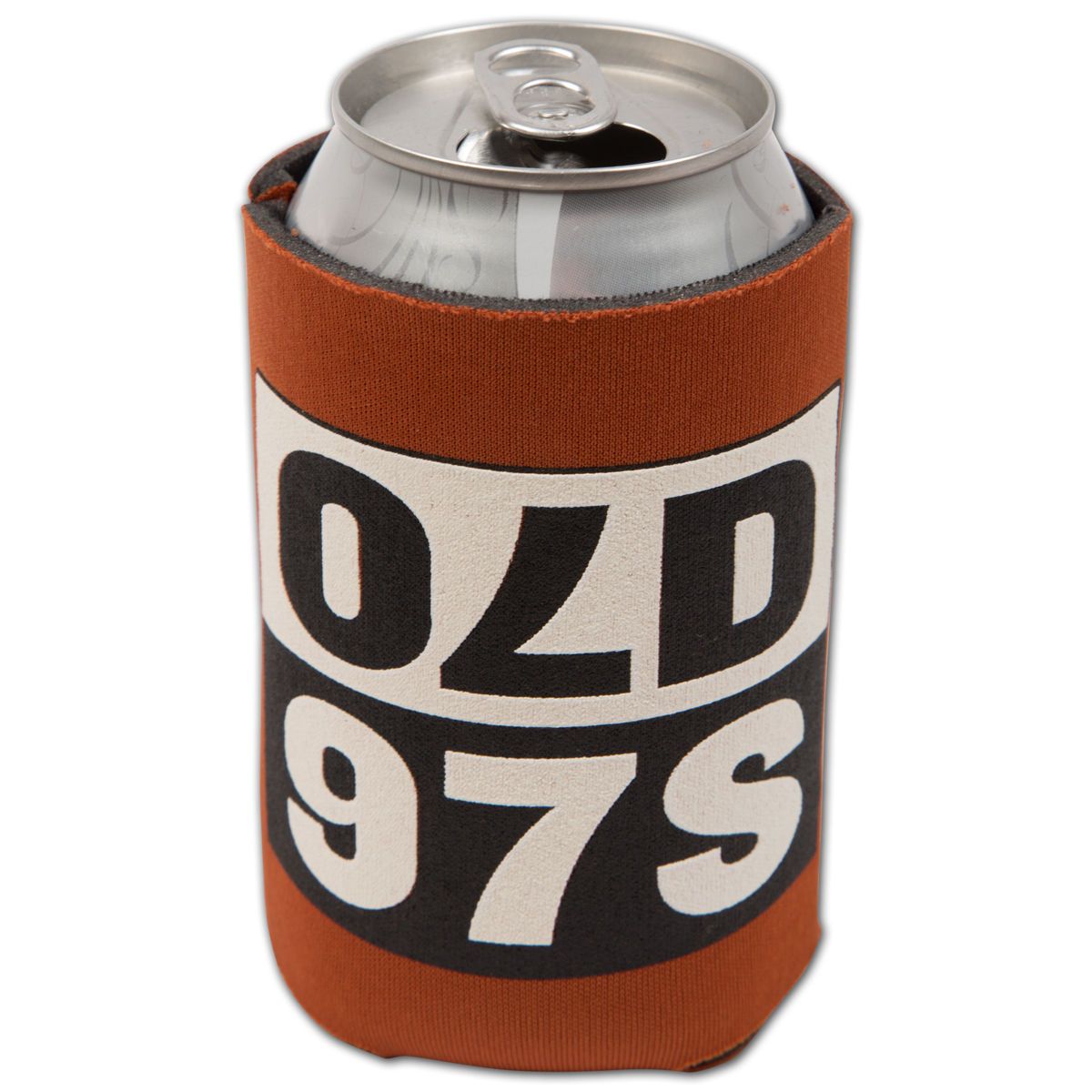 Old 97's Mirror Logo Koozie - Orange