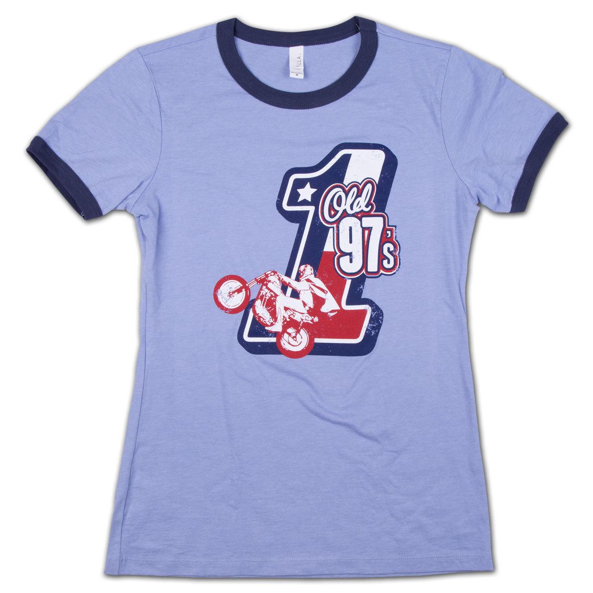 Old 97's Evel Ladies Ringer T-Shirt