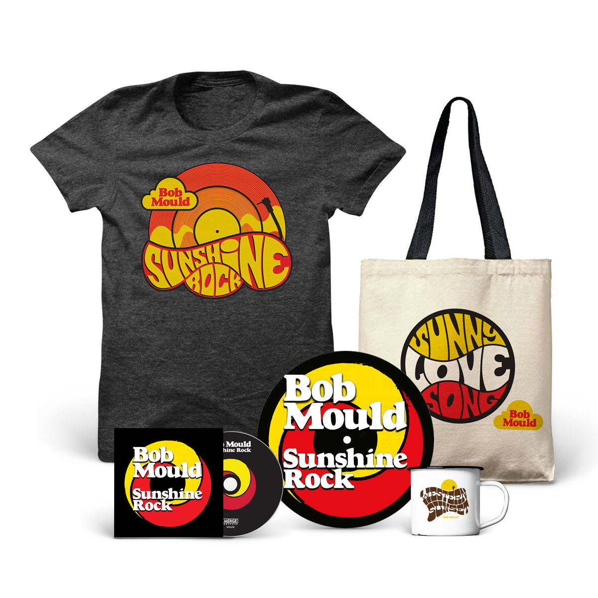 CD + T-Shirt + Tote + Mug + Slipmat