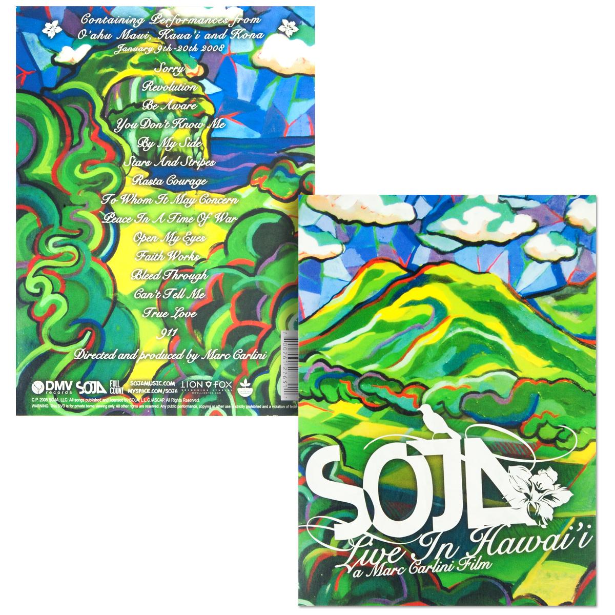 SOJA - Live In Hawaii DVD
