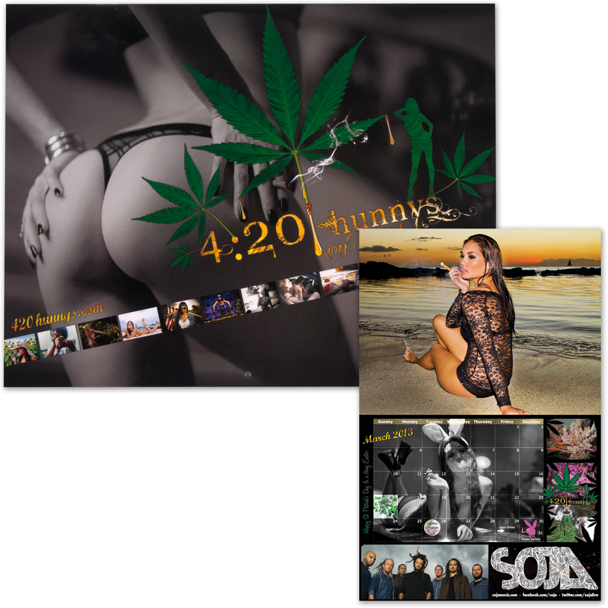 SOJA - 420 Hunnys 2013 Calendar