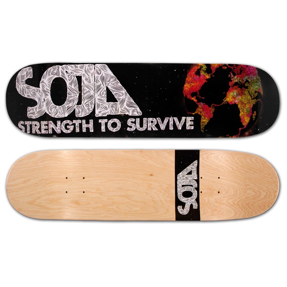 SOJA - Strength To Survive Skateboard Deck