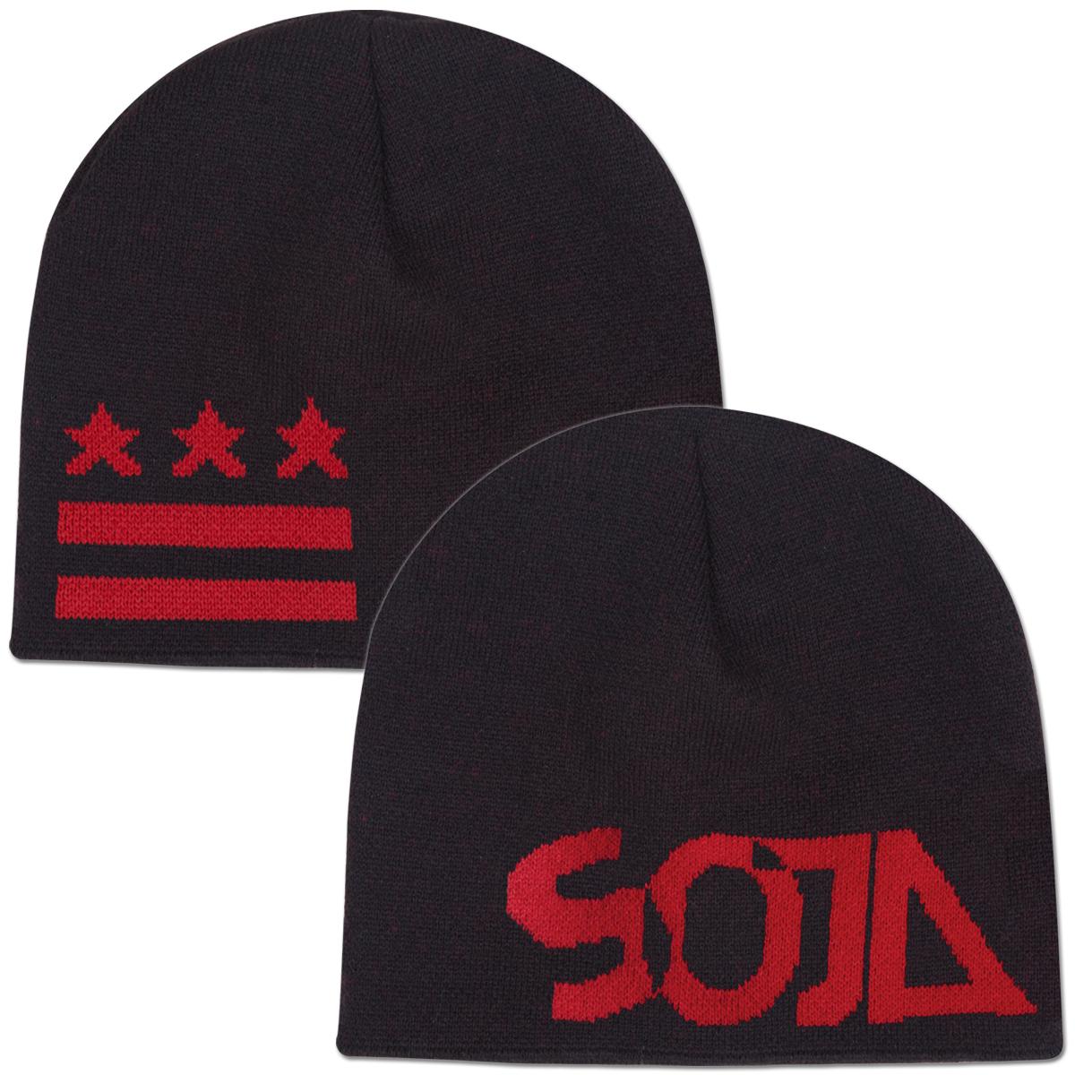 SOJA - Black Knit Cap