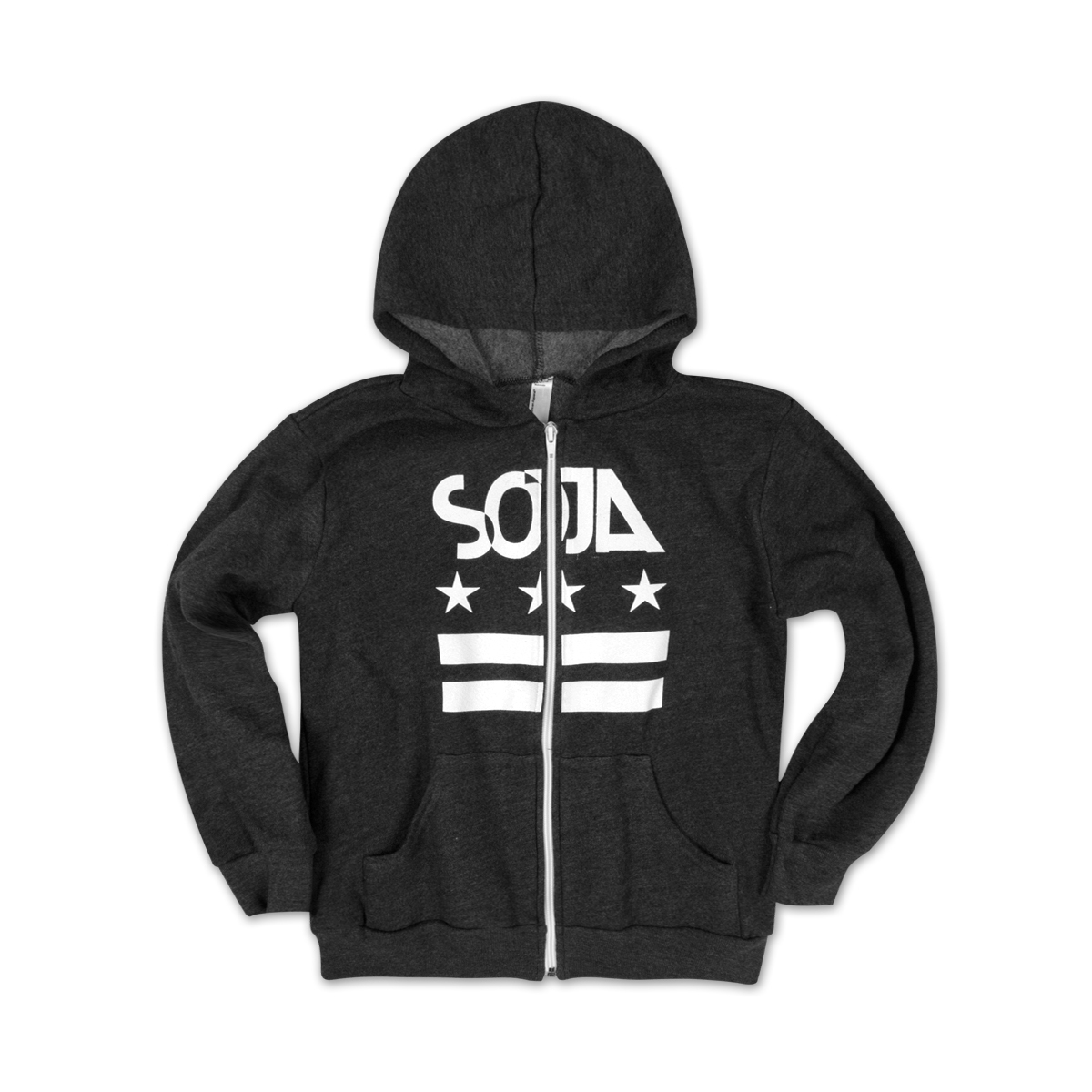 SOJA - Kids/Youth Stars and Bars Hoodie