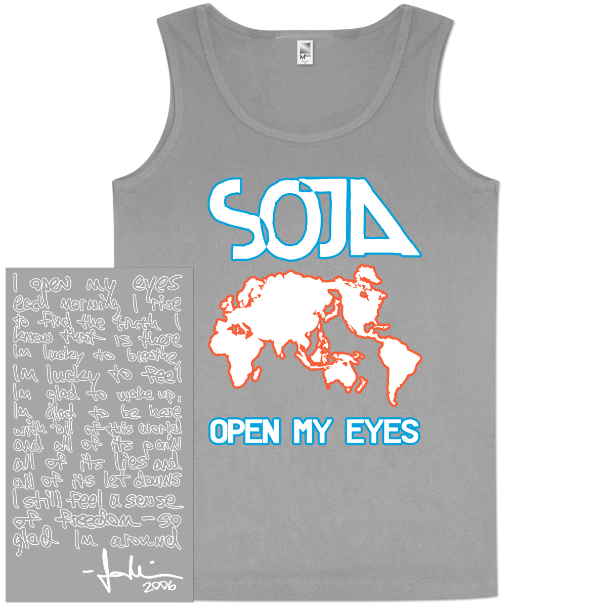 SOJA - Open My Eyes Tank
