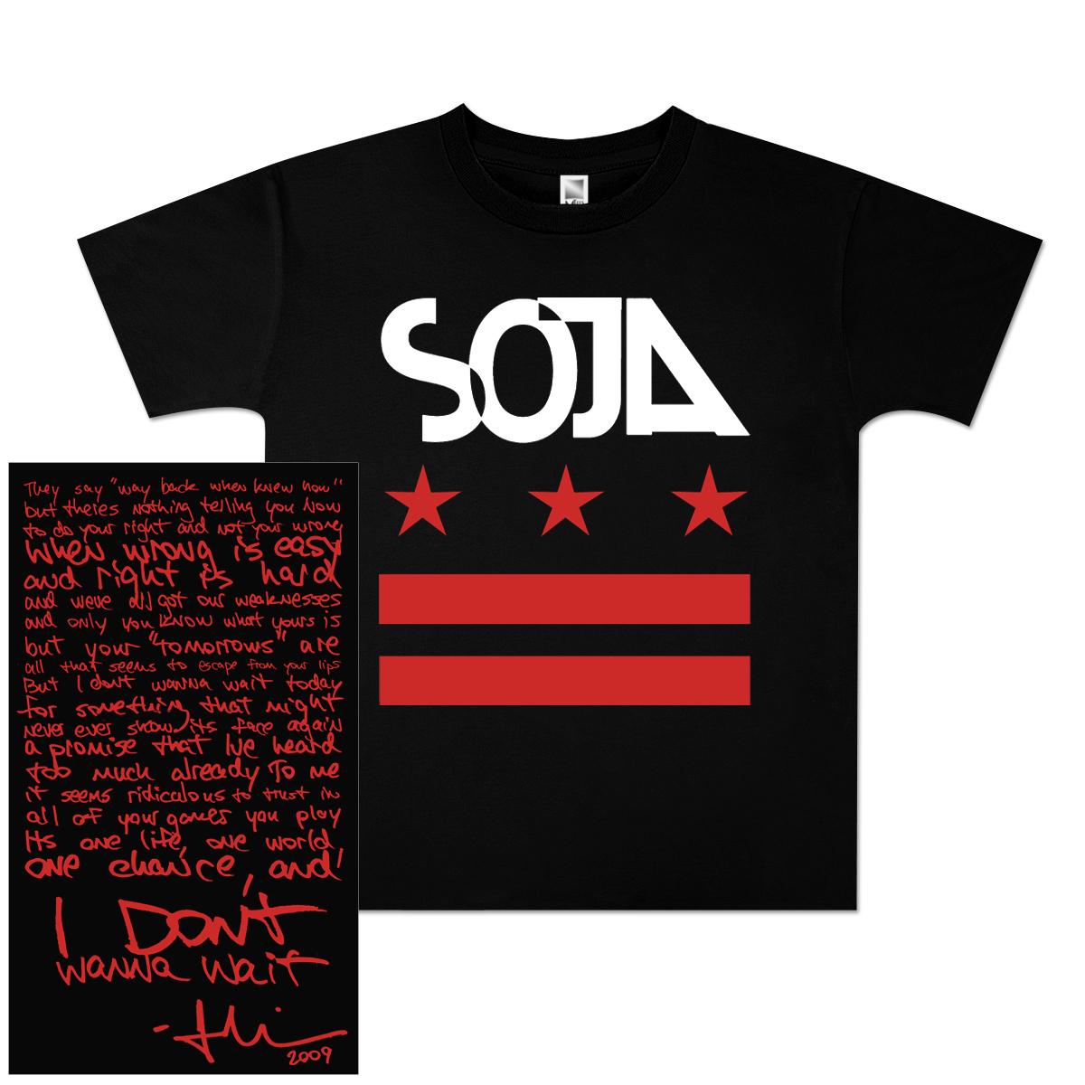 SOJA - Stars & Bars Youth T-Shirt