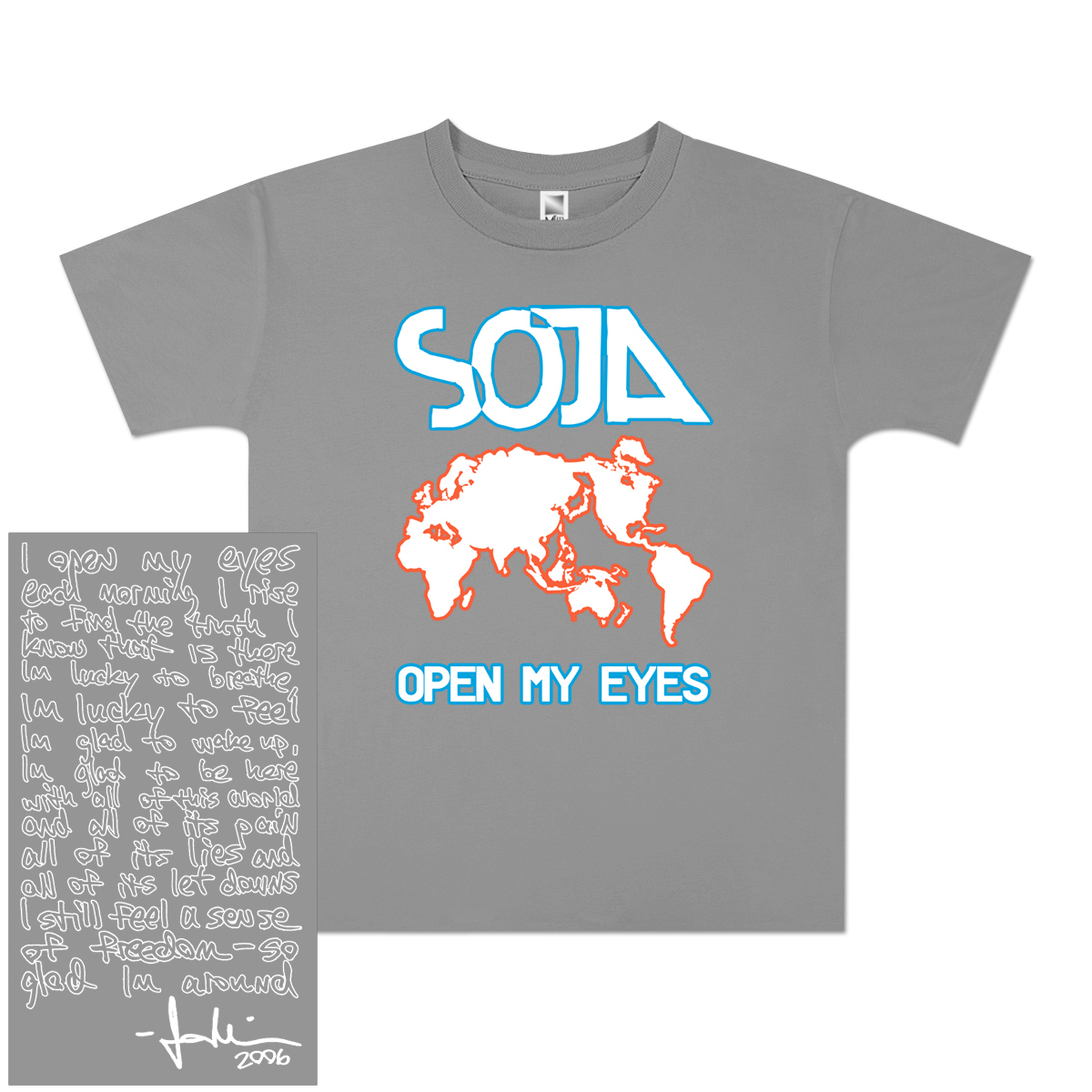 SOJA - Open My Eyes Youth T-Shirt