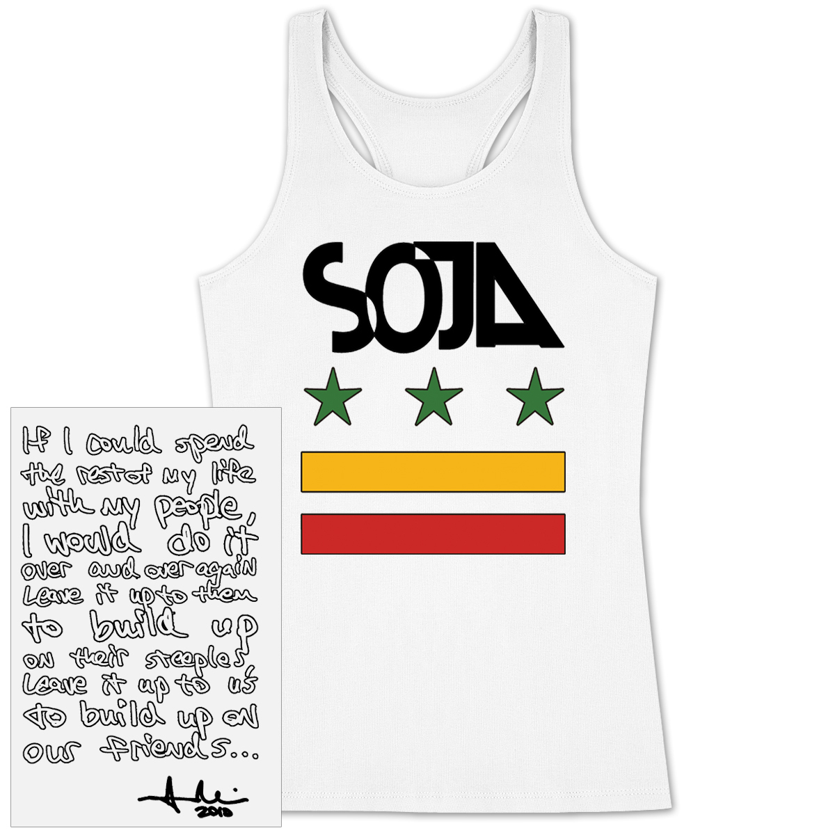 SOJA - Rest Of My Life Ladies Cut Tank