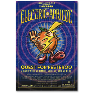 Official Electric Apricot Theatrical Poster