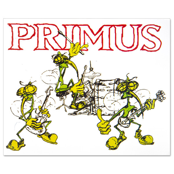 Primus - Skeeter Band Sticker