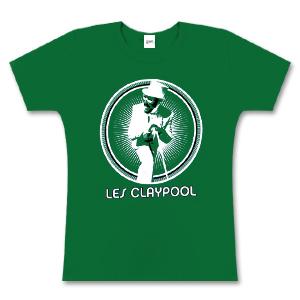 Women's Green Les Claypool Burst T-Shirt