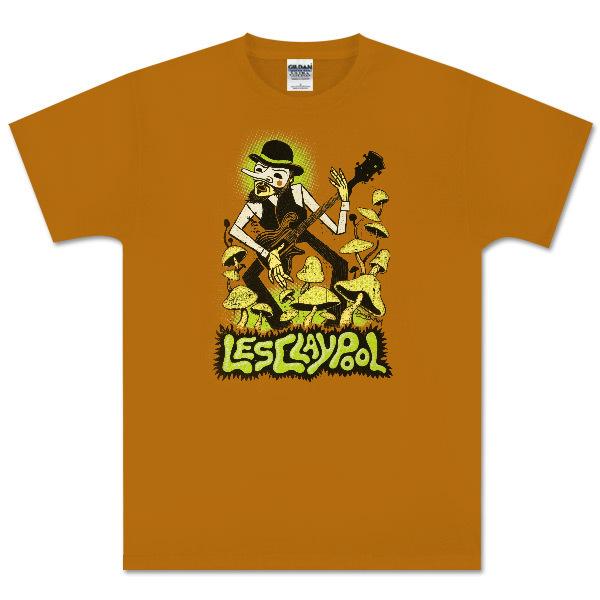 Les Claypool - Mushroom Bass Guitar T-Shirt