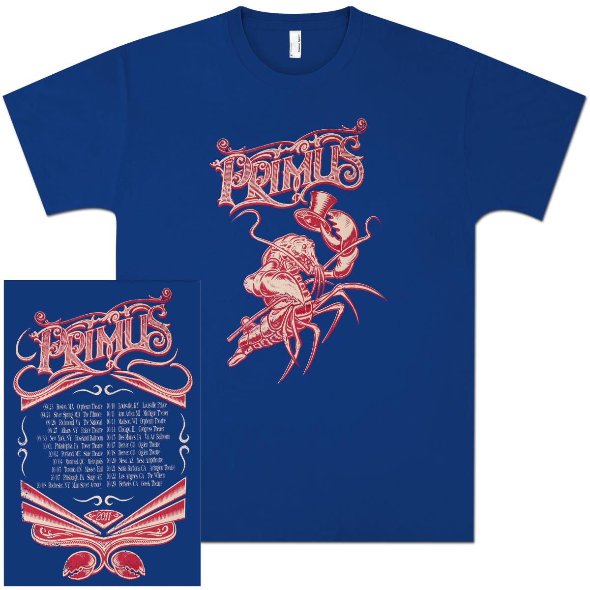 Primus 2011 Lobster Tour Tee