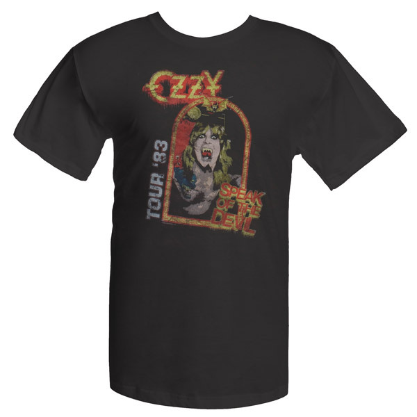 Ozzfest  Speak of the Devil T-shirt