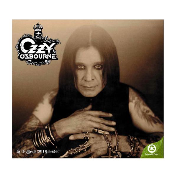 Ozzy Osbourne 2011 Calendar