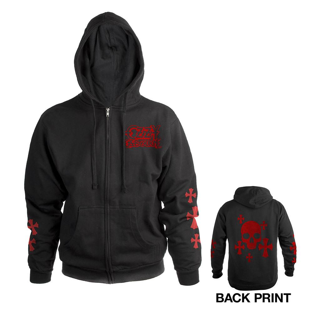 Ozzy Zip-Up Hooded Sweatshirt