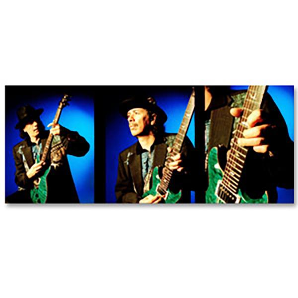 Carlos Santana w/ Green Guitar